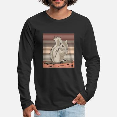 Rodent Squirrel rodent - Men's Premium Longsleeve Shirt