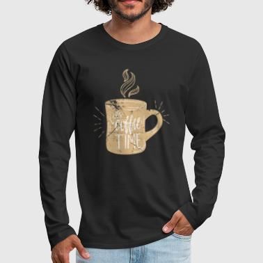 Coffee coffee - Men's Premium Longsleeve Shirt