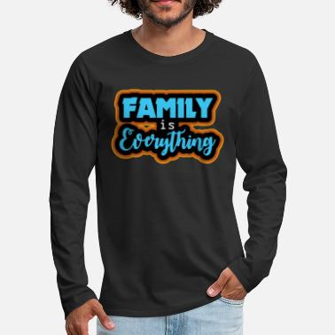 Family gift Christmas birthday - Men's Premium Longsleeve Shirt