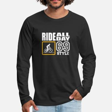 Kama Sutra ride all day 69 style - Men's Premium Longsleeve Shirt