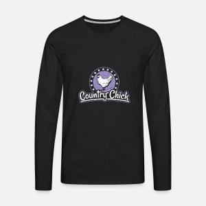 Drôle Chick T Shirt De Chemise Premium Poulet Homme Country qSOxvfUA