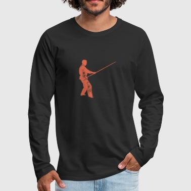 Stick stick fight - Men's Premium Longsleeve Shirt