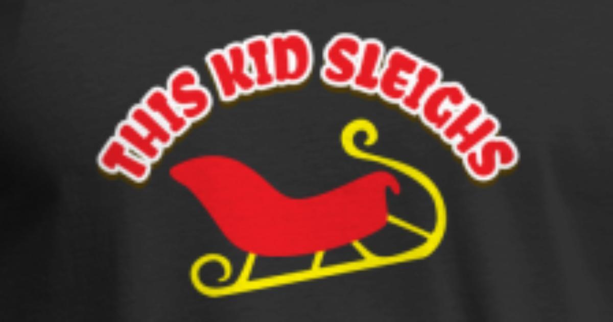 Kinder Weihnachtsgeschenk - Dieses Kind Sleighs von Viraldesigns ...