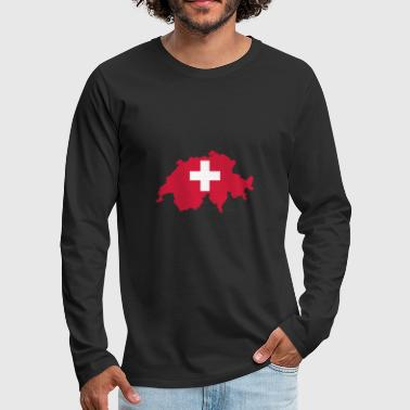 Switzerland Switzerland - Men's Premium Longsleeve Shirt