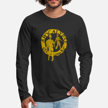 Tlc zombies gold - Men's Premium Longsleeve Shirt