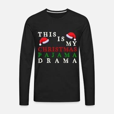 Jul pyjamas Premium T-shirt mænd  558343bb9574c