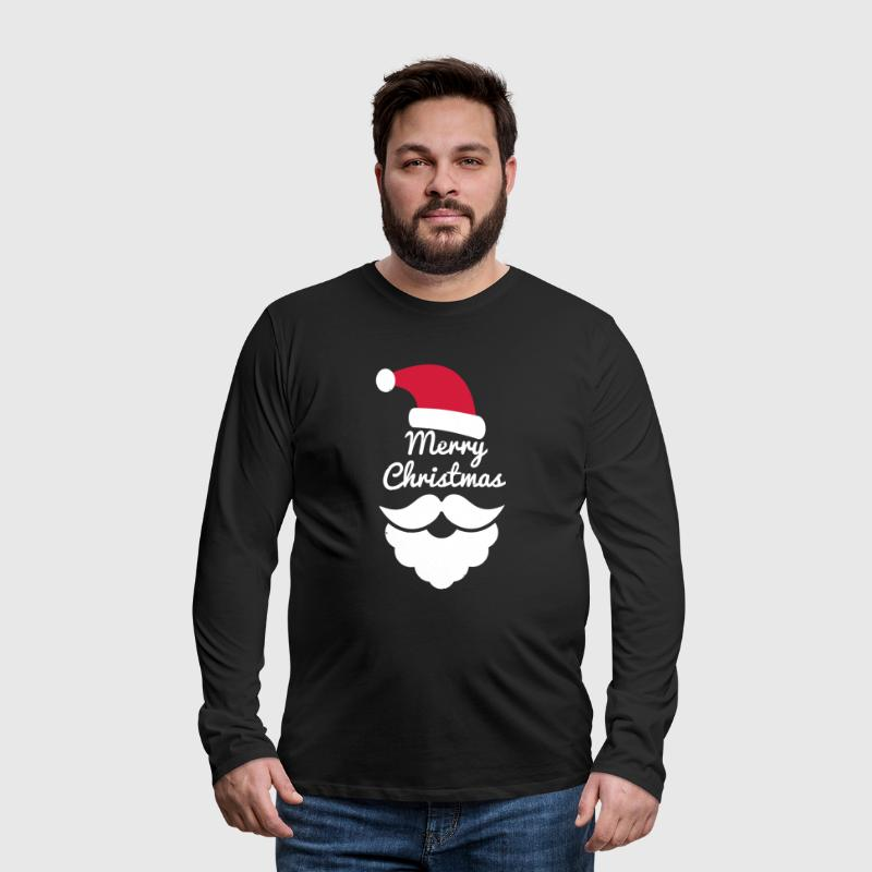 Merry Christmas Santa Clause - Men's Premium Longsleeve Shirt