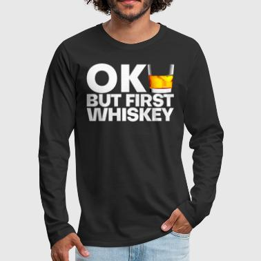 Whisky Whisky - T-shirt manches longues Premium Homme