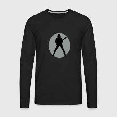 guitarist - Men's Premium Longsleeve Shirt