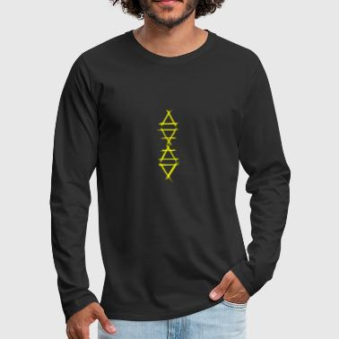 Element Element Icon 4 Elements Yellow - Men's Premium Longsleeve Shirt