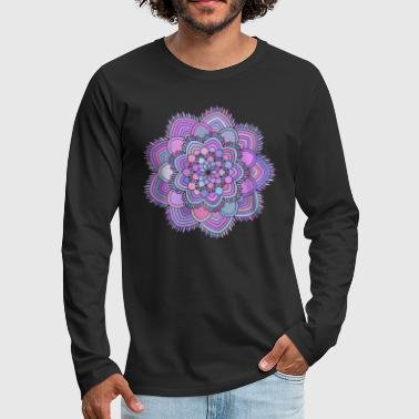 Mandala beautiful gift idea - Men's Premium Longsleeve Shirt