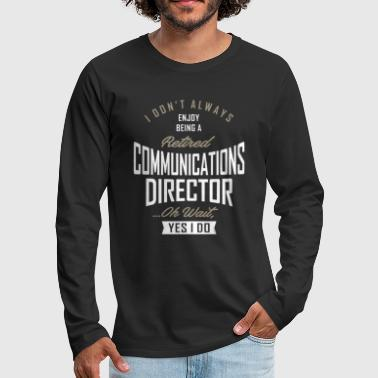 Communism Communications Director - Men's Premium Longsleeve Shirt