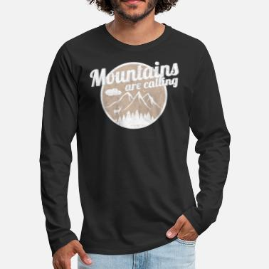 Mountains Mountains - Men's Premium Longsleeve Shirt
