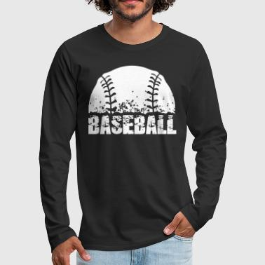 Baseball - T-shirt manches longues Premium Homme
