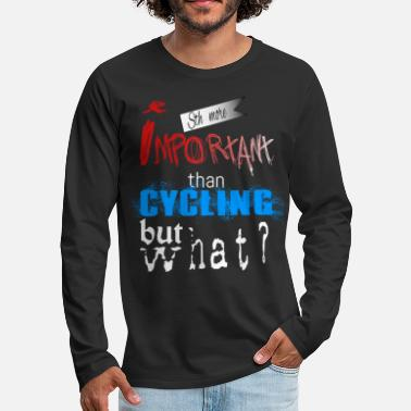 Cycling cycling - Men's Premium Longsleeve Shirt