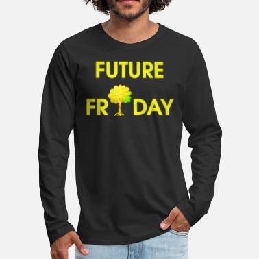 Movement Future Friday Environment Protest Movement Movement - Mannen premium longsleeve