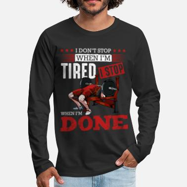 Body body builder - Men's Premium Longsleeve Shirt