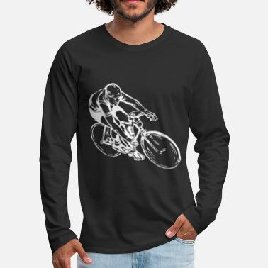 Bicycle Bicycling bicycle cyclist - Men's Premium Longsleeve Shirt