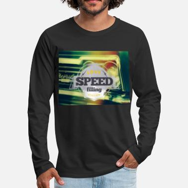 Speed Speed speed - Men's Premium Longsleeve Shirt
