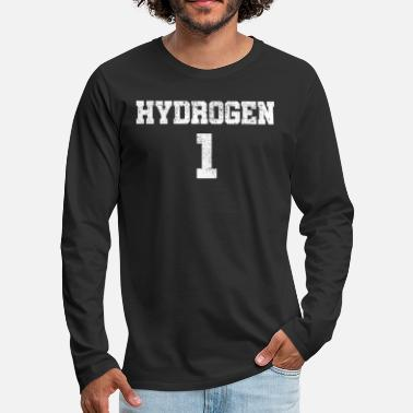 Hydrogen Element hydrogen - Men's Premium Longsleeve Shirt