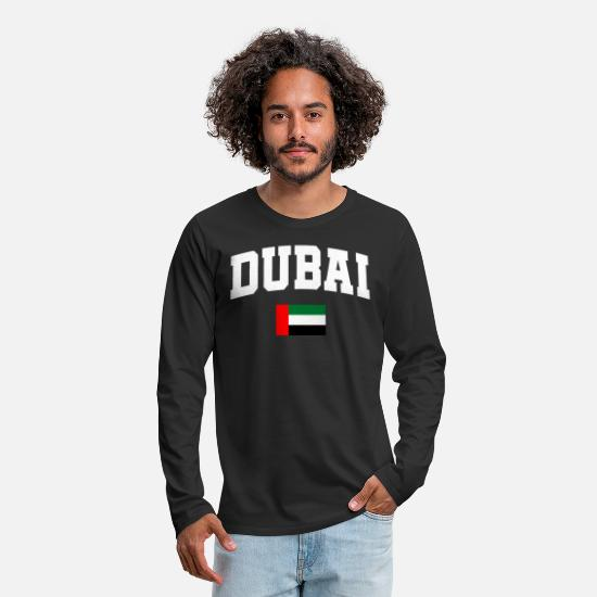 Oil Long sleeve shirts - DUBAI - Men's Premium Longsleeve Shirt black