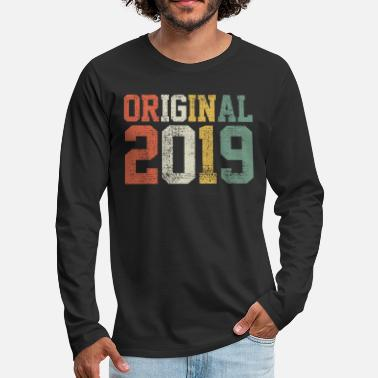 2019 2019 Original 2019 - Men's Premium Longsleeve Shirt