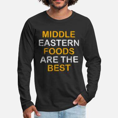Middle East Food middle east - Men's Premium Longsleeve Shirt