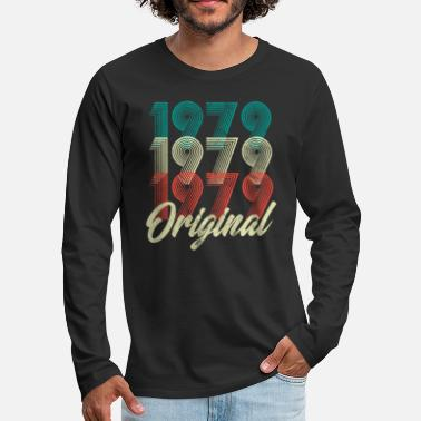Original 40th Birthday - 1979 Original Vintage Shirt - Men's Premium Longsleeve Shirt