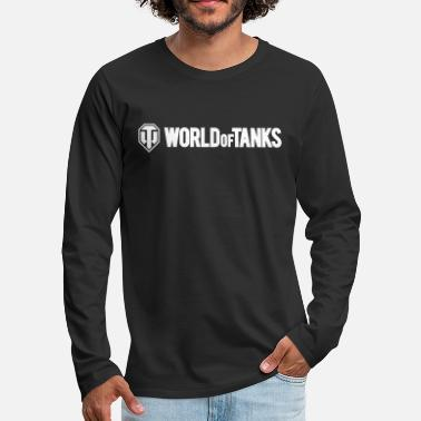 Of World of Tanks Men Longsleeve - Premium långärmad T-shirt herr