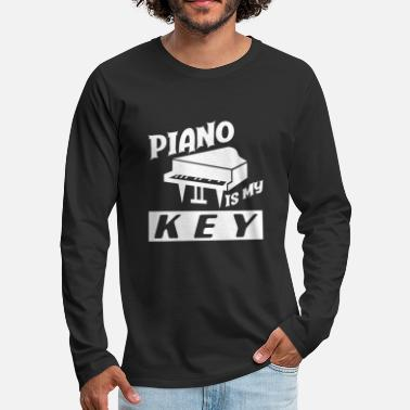 Piano Teacher Piano piano teacher - Men's Premium Longsleeve Shirt
