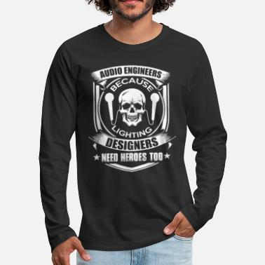 Audio Ingeniero de audio - Camiseta de manga larga premium hombre