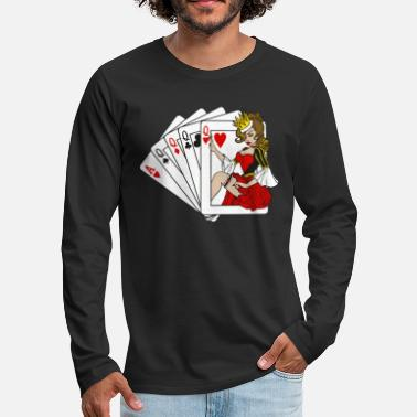 Playing Card Cards / Playing Cards - Men's Premium Longsleeve Shirt