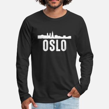 Oslo Oslo - T-shirt manches longues premium Homme