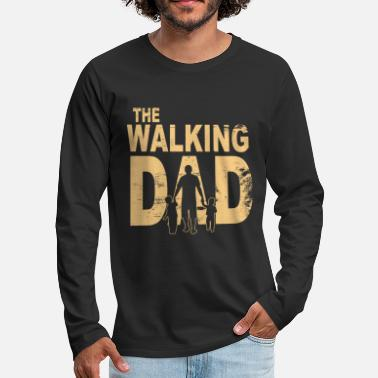 Walking The walking dad - Männer Premium Langarmshirt