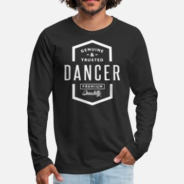 Dance Instructor Dancing dance floor dance sport dancing instructor dancer - Men's Premium Longsleeve Shirt