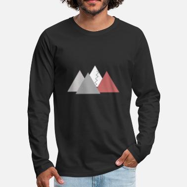 Mountains; mountains - Men's Premium Longsleeve Shirt