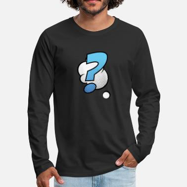 Comic Comic Comic Style Comic Strip Comics - Men's Premium Longsleeve Shirt