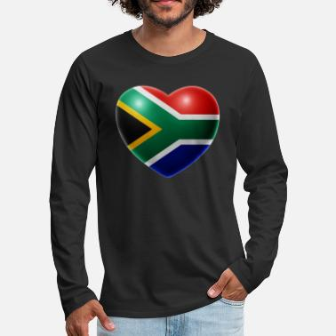 South Heart (South Africa / South Africa) - Men's Premium Longsleeve Shirt