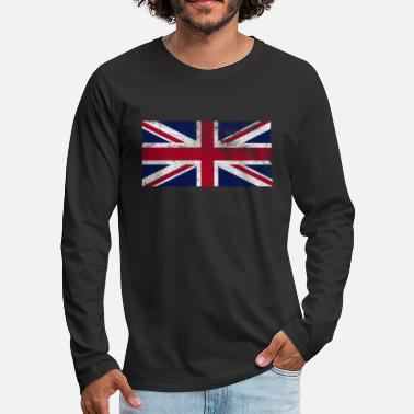 Union Jack retro - Men's Premium Longsleeve Shirt