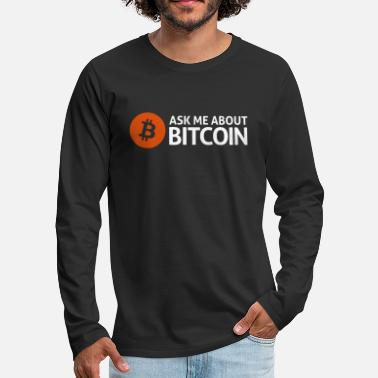 Bitcoin bitcoins - Men's Premium Longsleeve Shirt