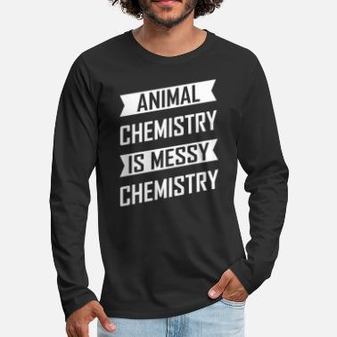 Fond Of Animals animal experiments - Men's Premium Longsleeve Shirt