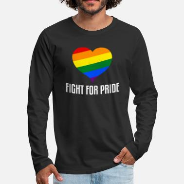 Fight for Pride - Männer Premium Langarmshirt