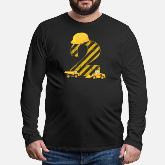 Bambino T Shirt Bimbo 2 Anni Escavatore Regalo Compleanno 24 Mesi Maglietta