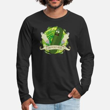 And Rick And Morty I'm Pickle Rick Funny Quote - Premium langærmet T-shirt mænd
