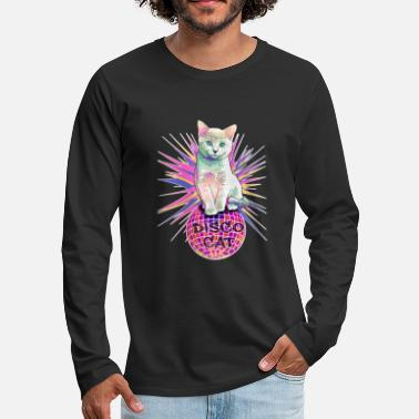 Disco Disco Cat - Men's Premium Longsleeve Shirt