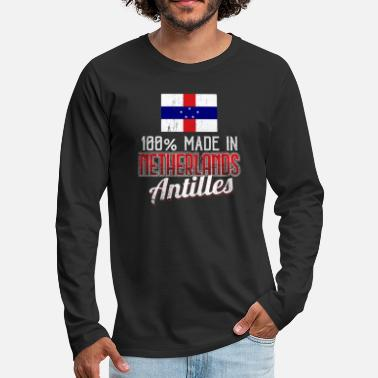 Netherlands Antilles Netherlands Antilles - Men's Premium Longsleeve Shirt