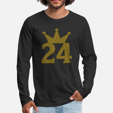 Number 24 crown c1w7 - Men's Premium Longsleeve Shirt