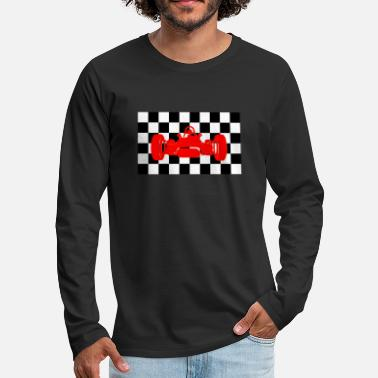 Car Race car / Formula Race Car / Racing Motorsport - Men's Premium Longsleeve Shirt