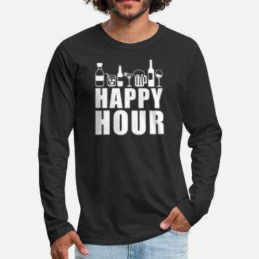 Happy Hour Happy hour - Men's Premium Longsleeve Shirt