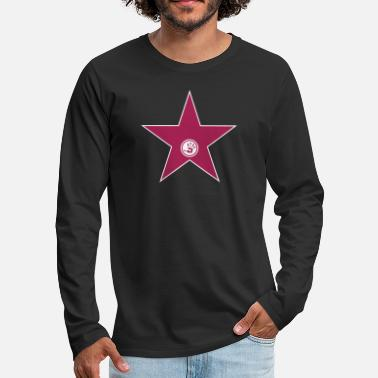 City Prominence Usa walk of fame + your name - Men's Premium Longsleeve Shirt